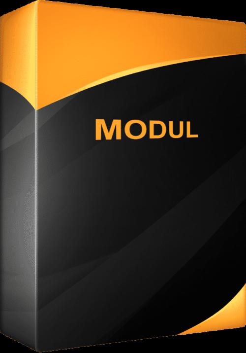 Készletkezelő program modul
